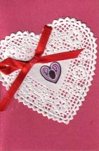 Valentine from Janie Anderson to Dorothy