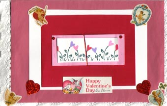 Valentine from Elaine Wold to Dorothy