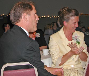 Curt and Patty Henderson, parents of the bridegroom