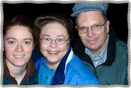 Suzanne, Ginny, Larry McCorkell