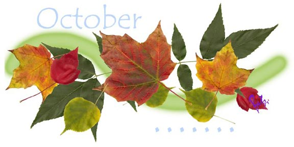 October on my mind...